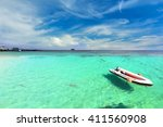 the paradise island in trang... | Shutterstock . vector #411560908