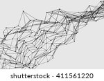 abstract three dimensional...   Shutterstock . vector #411561220