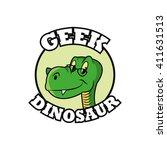 geek design  identity concept ... | Shutterstock .eps vector #411631513