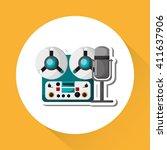 music illustration design ...   Shutterstock .eps vector #411637906