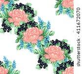 abstract elegance seamless... | Shutterstock .eps vector #411672070