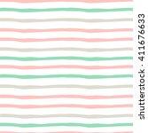 seamless hand drawn pattern... | Shutterstock .eps vector #411676633