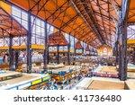 interiors of central market... | Shutterstock . vector #411736480