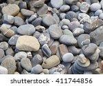 stones pebble  | Shutterstock . vector #411744856