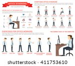 vector flat illustration for... | Shutterstock .eps vector #411753610