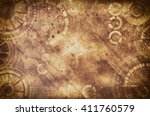 Steampunk Grunge Background ...