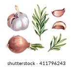watercolor illustrations of... | Shutterstock . vector #411796243