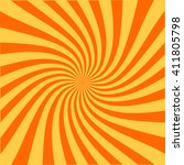swirling radial pattern... | Shutterstock .eps vector #411805798