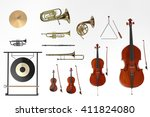 3d renderings of orchestra... | Shutterstock . vector #411824080
