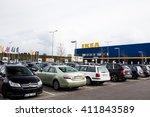 vilnius  lithuania april 24 ... | Shutterstock . vector #411843589