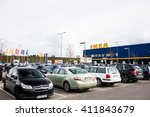 vilnius  lithuania april 24 ... | Shutterstock . vector #411843679