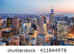 new york city  usa | Shutterstock . vector #411844978