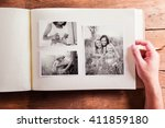 mothers day composition. photo... | Shutterstock . vector #411859180