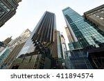new york city   march 28 ... | Shutterstock . vector #411894574