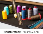 Sewing Accessories  Spools Of...