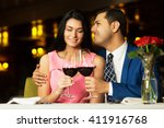 beautiful young couple with