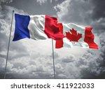 3d illustration of france  ... | Shutterstock . vector #411922033