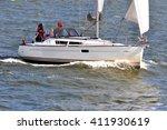 klaipeda  lithuania   july 17 ... | Shutterstock . vector #411930619