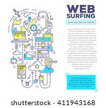 vector creative concept... | Shutterstock .eps vector #411943168