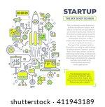 vector creative concept... | Shutterstock .eps vector #411943189