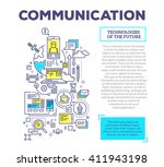 vector creative concept... | Shutterstock .eps vector #411943198