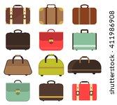 Set Many Types Isolated Travel...