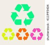 recycle | Shutterstock .eps vector #411995404