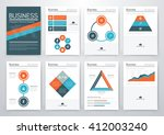 vector illustration set... | Shutterstock .eps vector #412003240