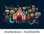 vector illustration of flat...   Shutterstock .eps vector #412032646