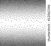 dots pattern grunge halftone... | Shutterstock .eps vector #412062346