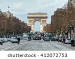 paris  france   feb 06  2016... | Shutterstock . vector #412072753