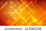 abstract vector sparkle... | Shutterstock .eps vector #412082248
