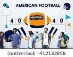 american football competition... | Shutterstock . vector #412132858