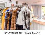 greece   apr 22  2016  fur... | Shutterstock . vector #412156144