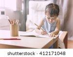 offspring toddler adolescence... | Shutterstock . vector #412171048