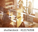 business corporation... | Shutterstock . vector #412176508