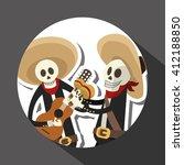 mexican culture design  vector...   Shutterstock .eps vector #412188850