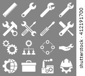 options and service tools icon... | Shutterstock .eps vector #412191700
