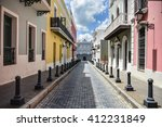 Colorful buildings on Calle Fortaleza & Governor