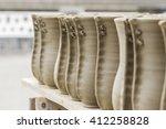 clay pots | Shutterstock . vector #412258828