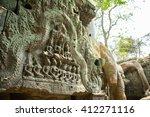siem reap  cambodia   apr 14 ... | Shutterstock . vector #412271116