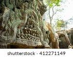 siem reap  cambodia   apr 14 ... | Shutterstock . vector #412271149