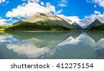 panorama akkem lakes  altai... | Shutterstock . vector #412275154