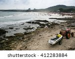 kenting taiwan   june 16 2014 ... | Shutterstock . vector #412283884
