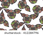 pattern to fit the needs of... | Shutterstock . vector #412284796