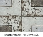 grunge and dirty crack wood... | Shutterstock . vector #412295866