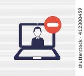 wearable technology design  | Shutterstock .eps vector #412300459