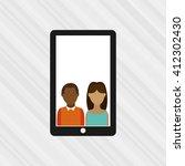 wearable technology design  | Shutterstock .eps vector #412302430