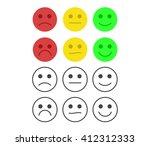 customer feedback or user... | Shutterstock .eps vector #412312333