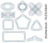 vector abstract decorative wave ... | Shutterstock .eps vector #412314664
